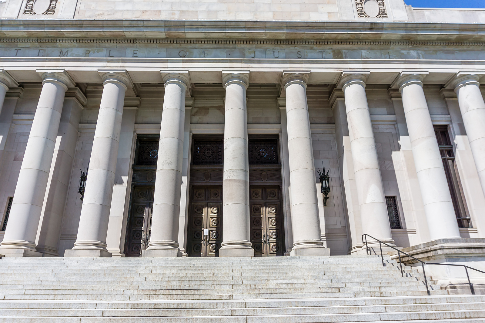 Appellate Law Front Of The Temple Of Justice Building At The Washington State
