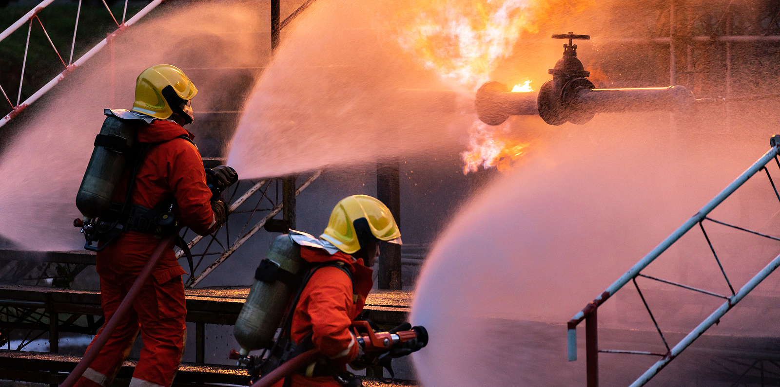Fire Explosion Environmental Law Firefighter Team